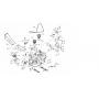 MTD WOLF-Garten Asztal szíj feszítő tárcsa 756-04050