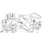 Honda Bordás görgő HF2417,HF2620 80387-VK1-003